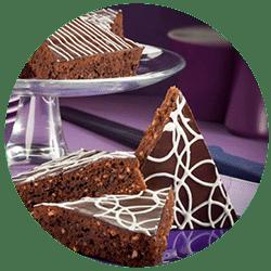 Gewürzschnitte mit Schokolade
